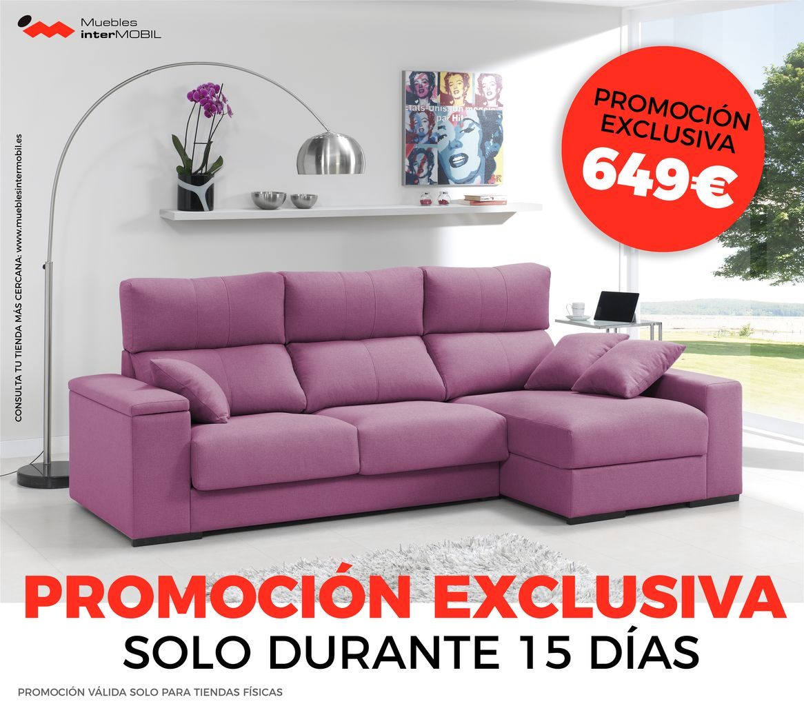 sofa chaiselong barato