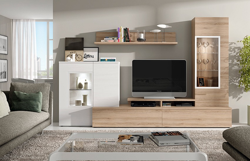 Salones muebles intermobil - Muebles de salon contemporaneos ...